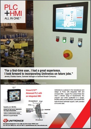PLC HMI All In One First Time User