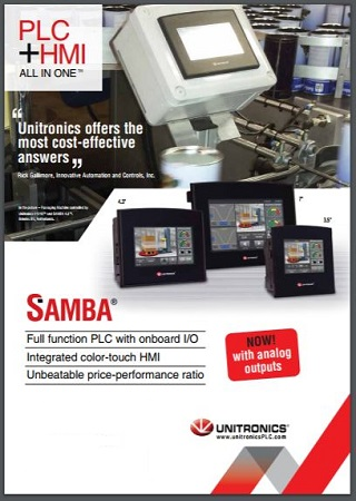 Unitronics PLC+HMI  UniStream, Vision, Samba & Jazz systems