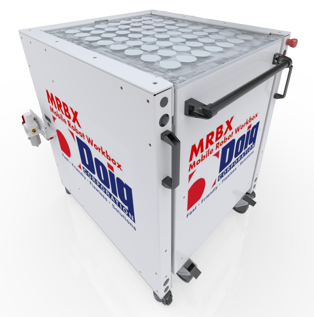 DOIG MRBX Mobile Robot Workbox | CNC Machine Tending