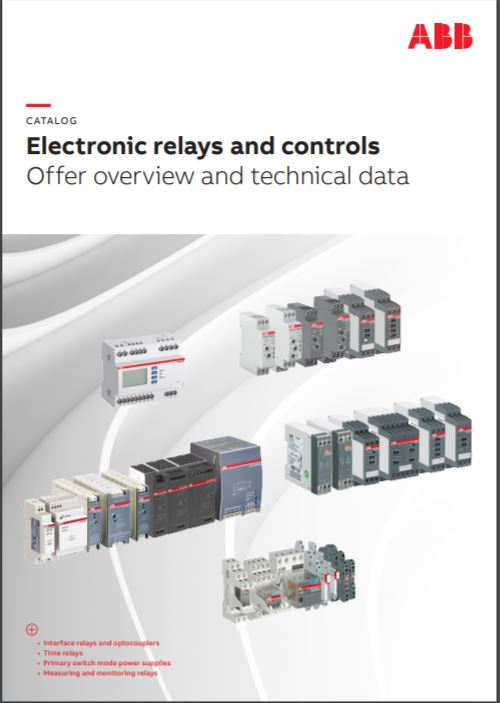 ABB Electronic Relays catalog