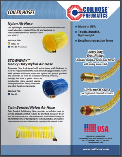 See the Coiled Hose Lineup
